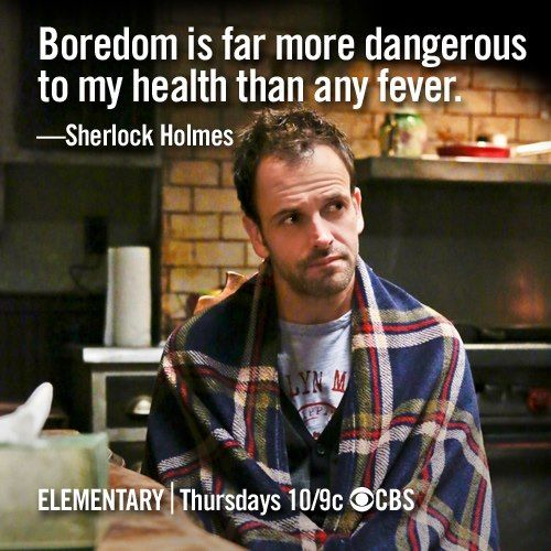 Elementary I Love Jonny Lee Miller In This Role My