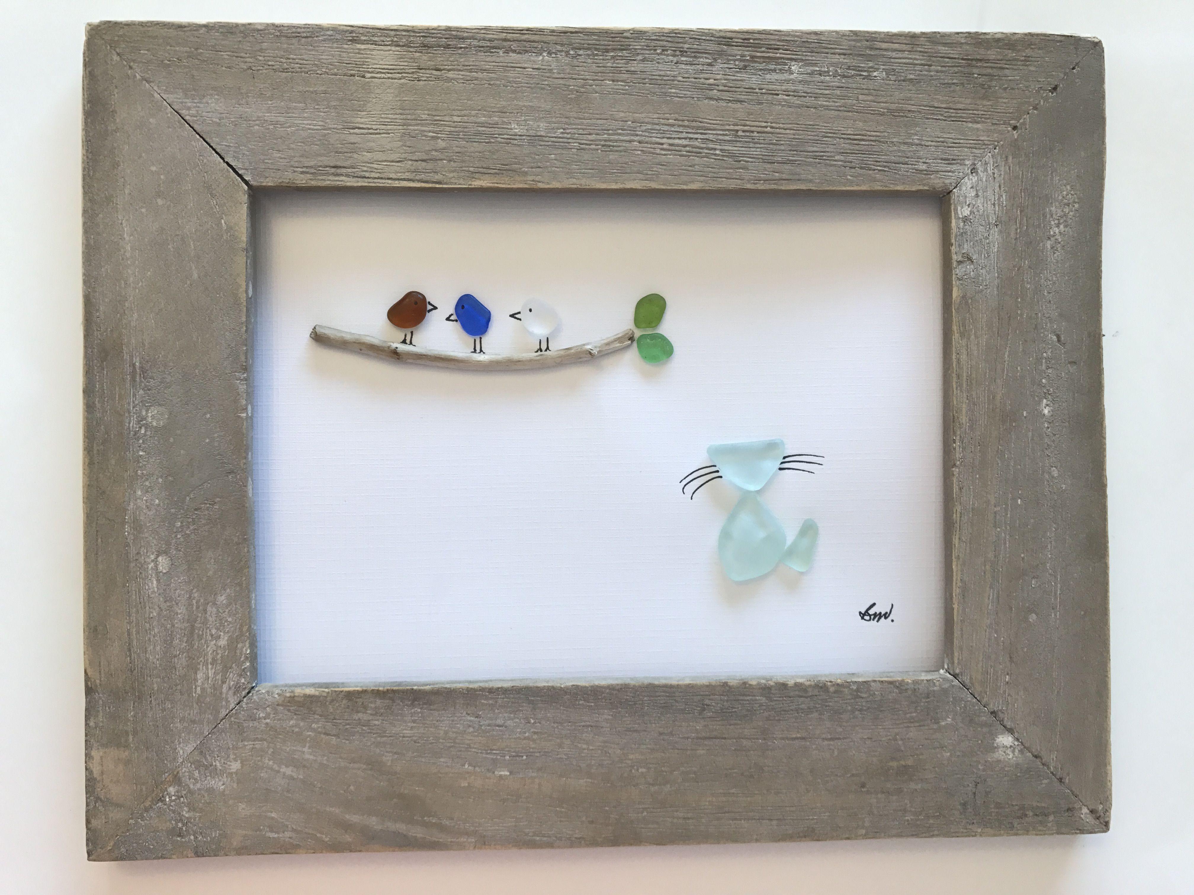 Pin by Boyka Zlatina on HOME DECO   Pinterest   Sea glass art