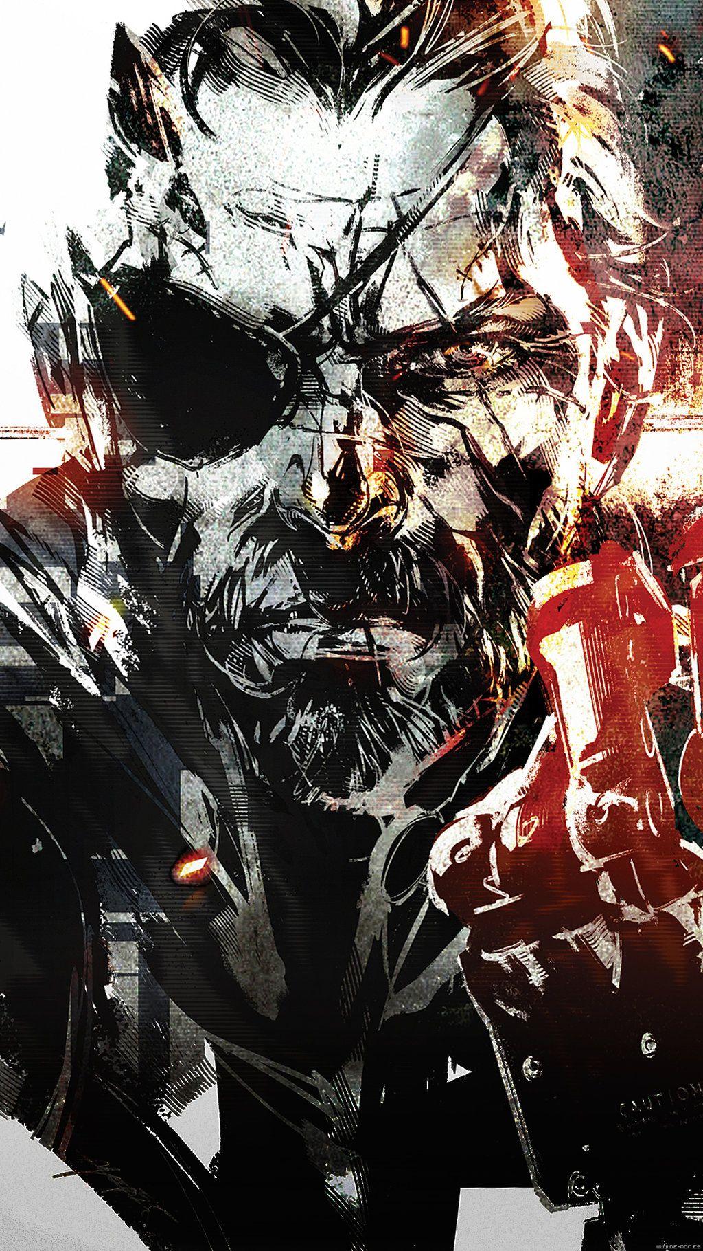 Metal Gear Solid Wallpaper Metal Gear Solid V The Phantom Pain