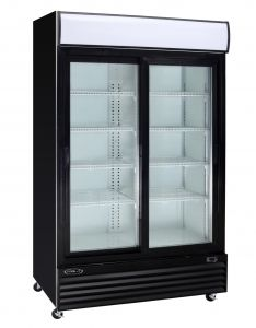 42cf Kool It 2 Door Commercial Glass Door Display Cooler Refrigerator Commercial Glass Doors Display Refrigerator Glass Door Refrigerator