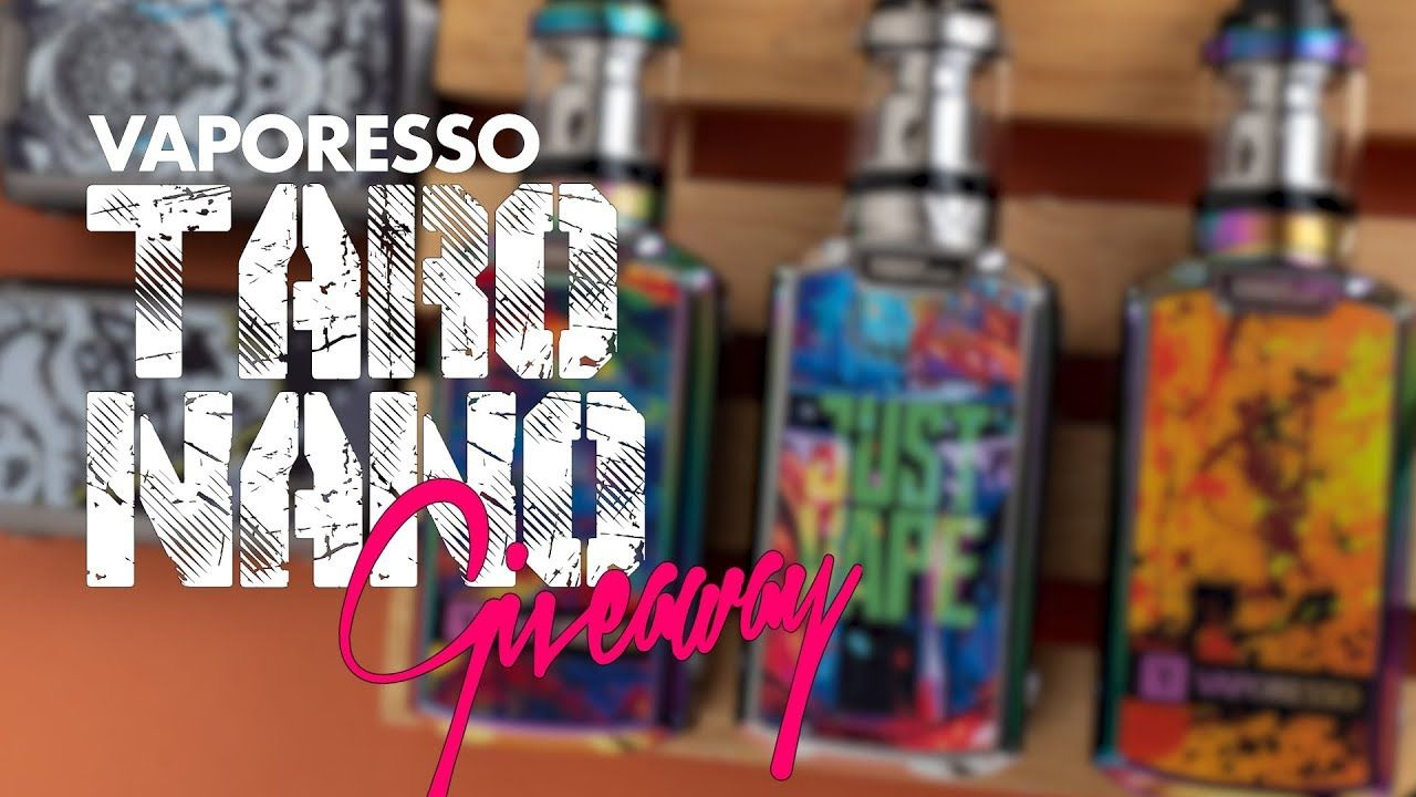 Vaporesso Taro Nano Kit Vape Giveaway Vape, Giveaway, Kit
