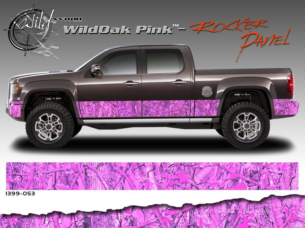 Wild Wood Camouflage Lower Rocker Panel Graphics Kit 12 Inch X 12 Foot Per Side Gmc Trucks Custom Trucks Lifted Chevy Trucks