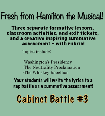 Hamilton The Musical In The Classroom Skills And Content Common