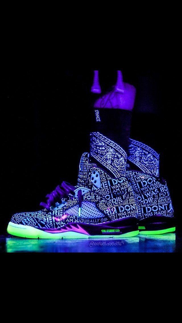Glow In The Dark Custom Air Jordan 5