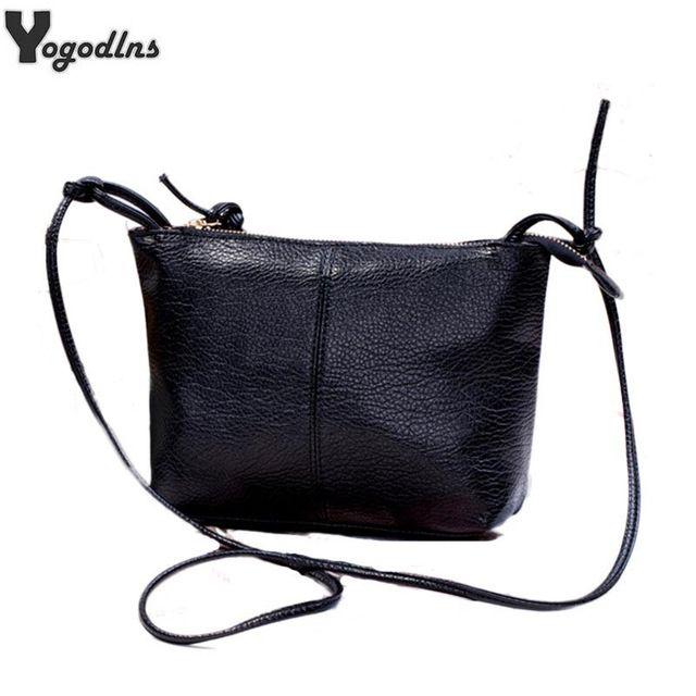 16bcef80b378 2018 искусственная кожа женские сумки через плечо Мода Повседневная сумка  через плечо сумка маленькая старинные женские сумки