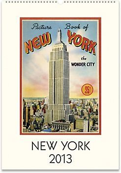 2013 Cavallini New York Wall Calendar