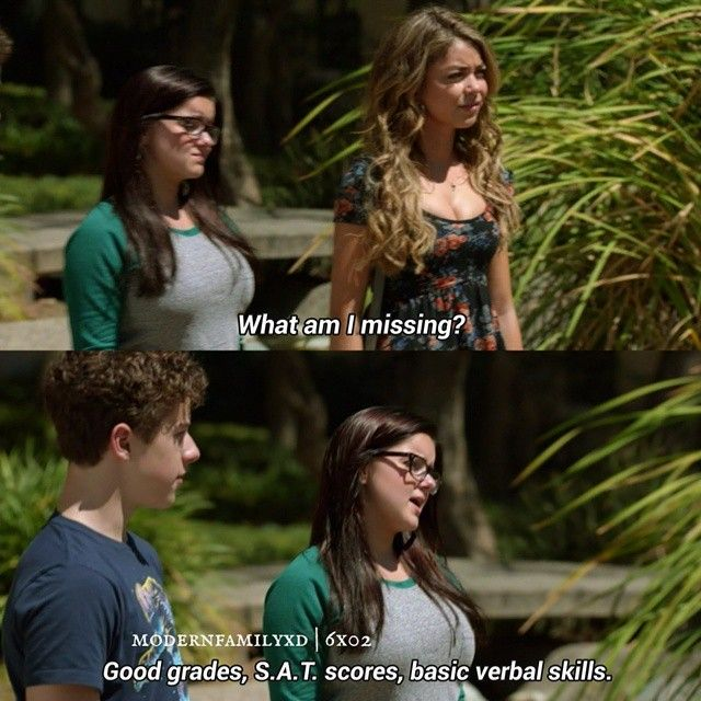 Modernfamily 6x02 Do Not Push Alex Haley And Luke Modern Family Funny Modern Family Memes Modern Family Quotes