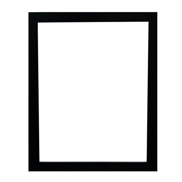 Frames By Post Cornice per foto 50 x 70 cm, nero (33