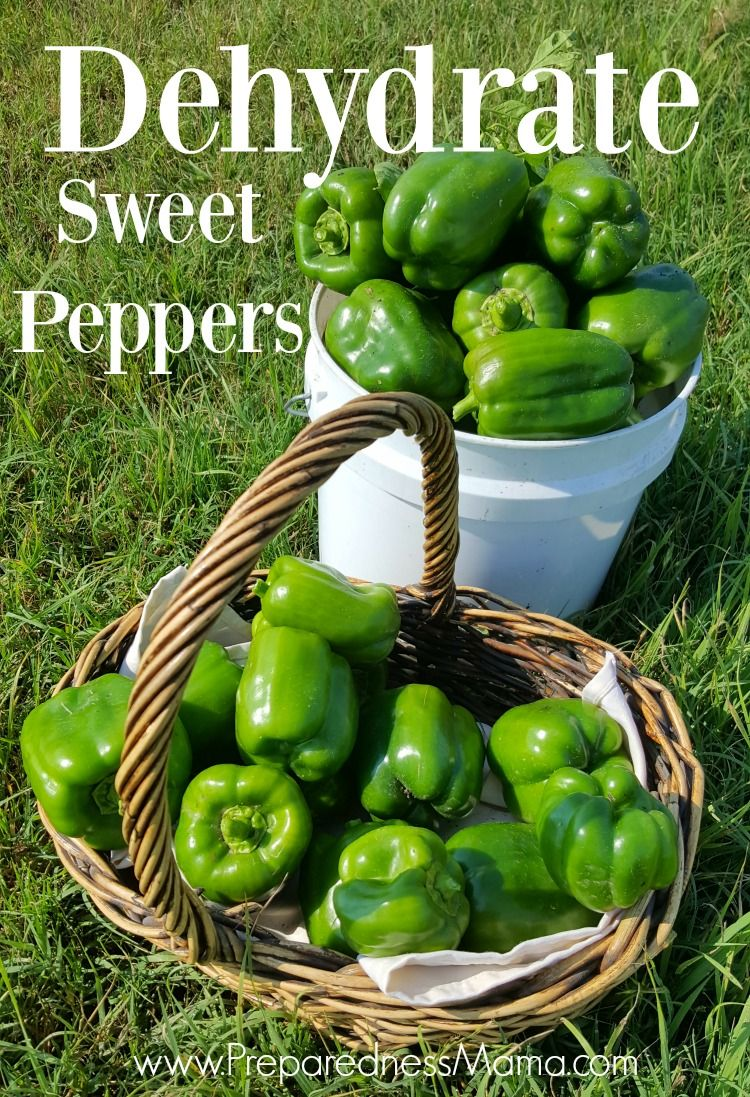 How to dehydrate sweet peppers stuffed sweet peppers