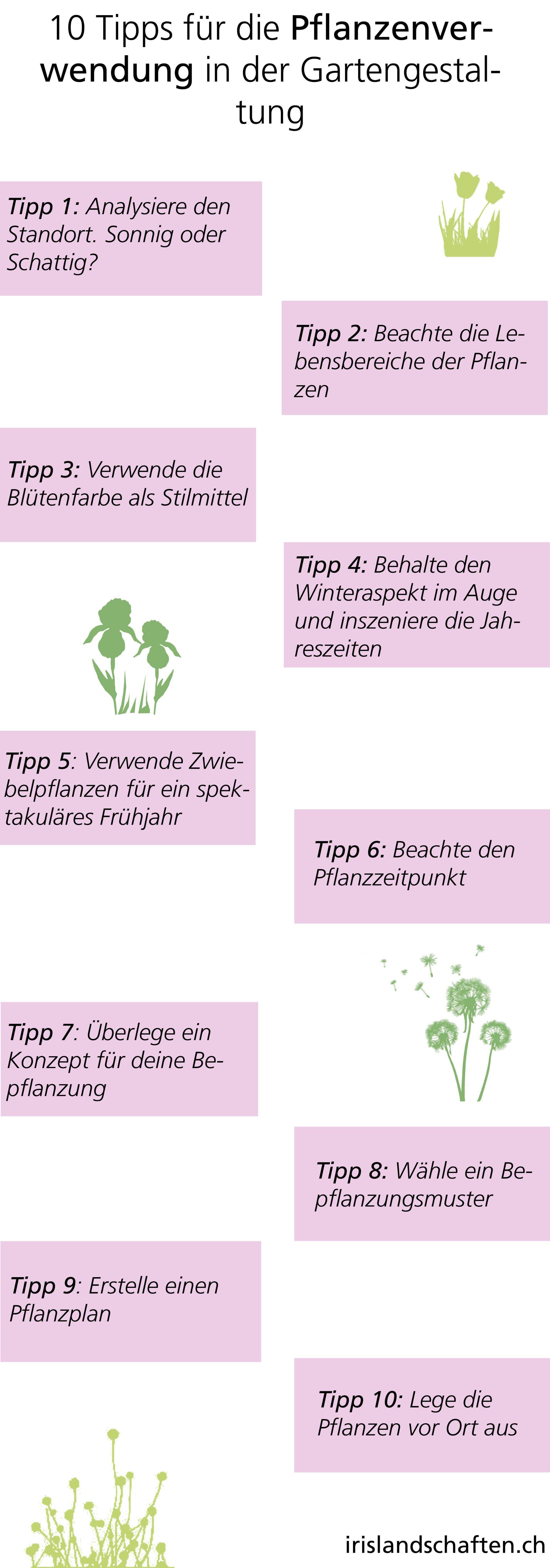 10 tipps für die pflanzenverwendung in der gartengestaltung, Garten und erstellen