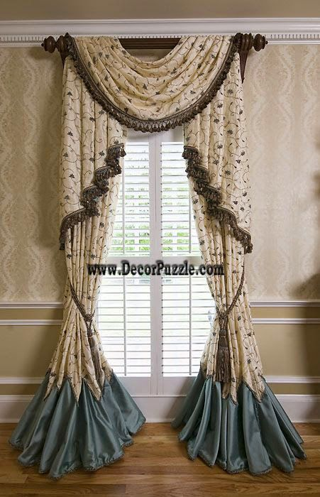 French Country Curtains For Small Door And Windows