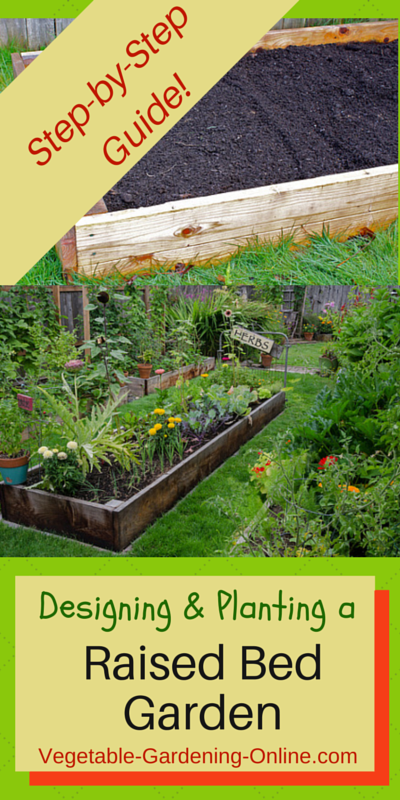 Free Plans For Building A Raised Bed Garden; Also Use Our