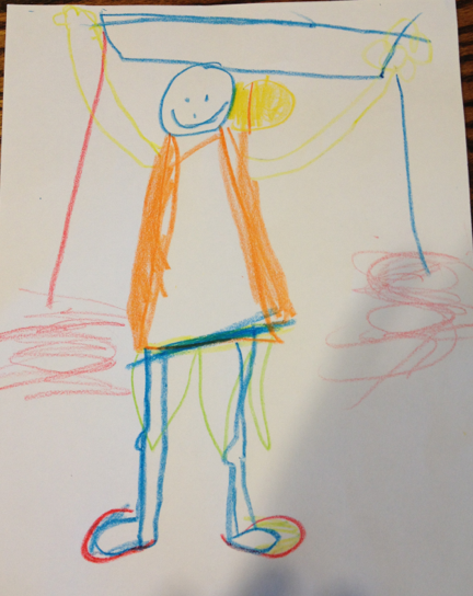 A person drawn by Leah, 2 years old • Art My Kid Made # ...