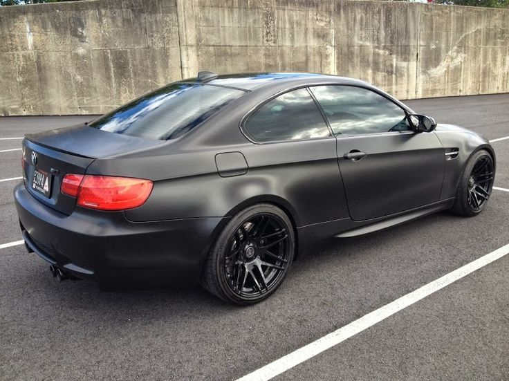 Matte Black Bmw E92 M3 Smooth Rides Bmw Matte Black Bmw Coupe