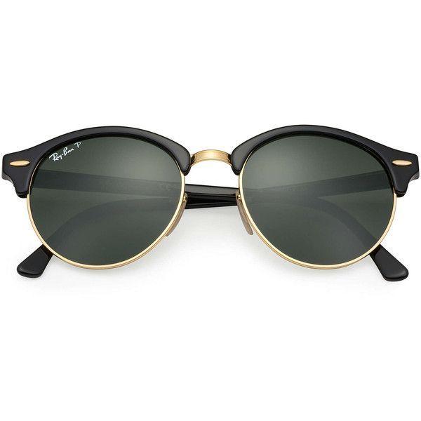 959f89194d Ray-Ban Clubround Black Sunglasses