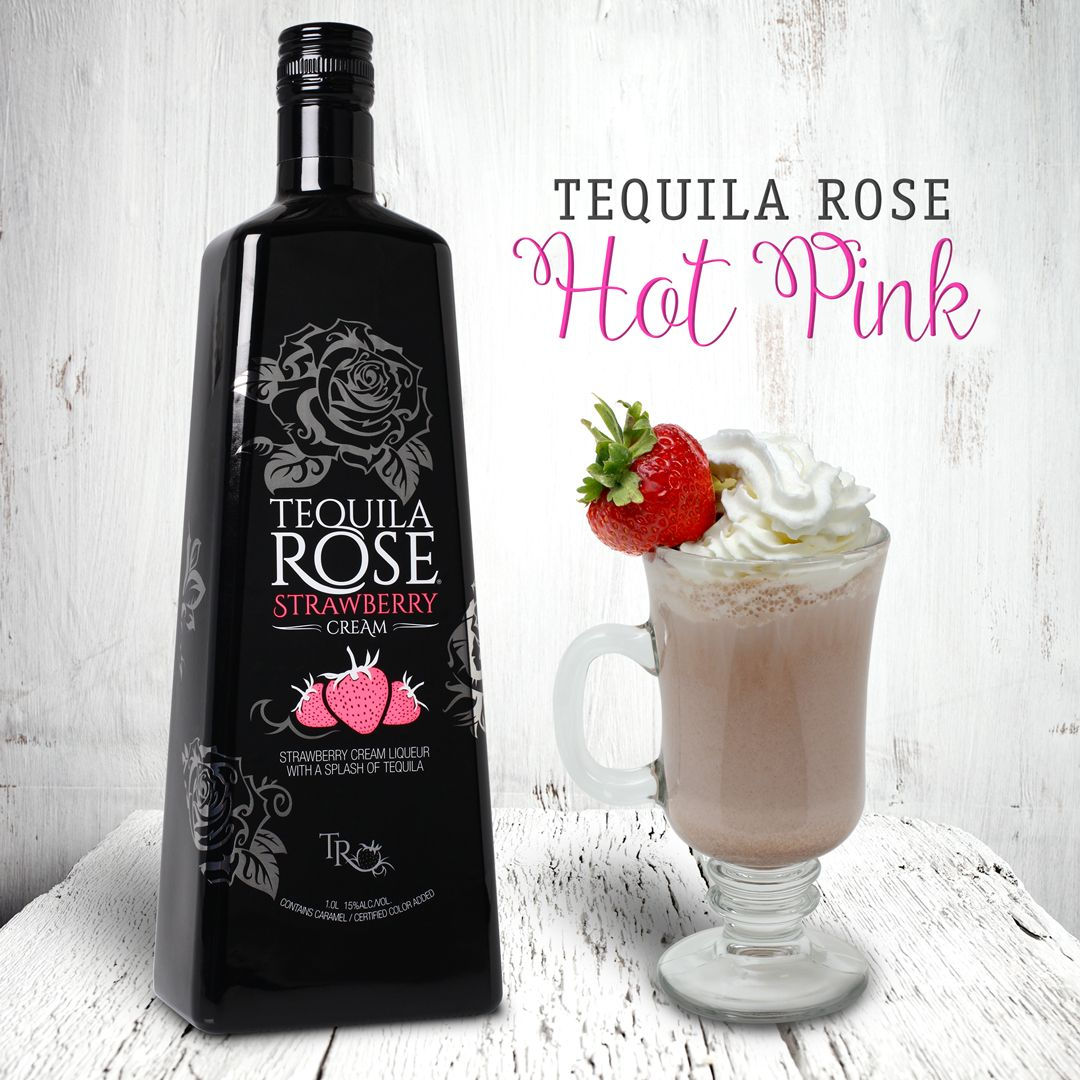Strawberry Kiss 1 oz. Tequila Rose .5 oz. light rum 1 oz ...
