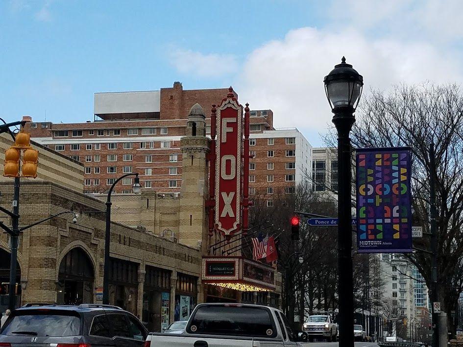 Fox theater atlanta street view places views