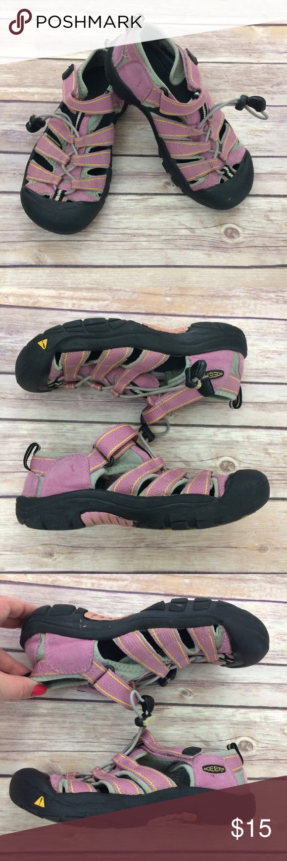 Keen Sandals Lavender waterproof sandals by Keen. Love that they're machine washable! VGUC for mild general wear. 12518 Keen Shoes Sandals & Flip Flops