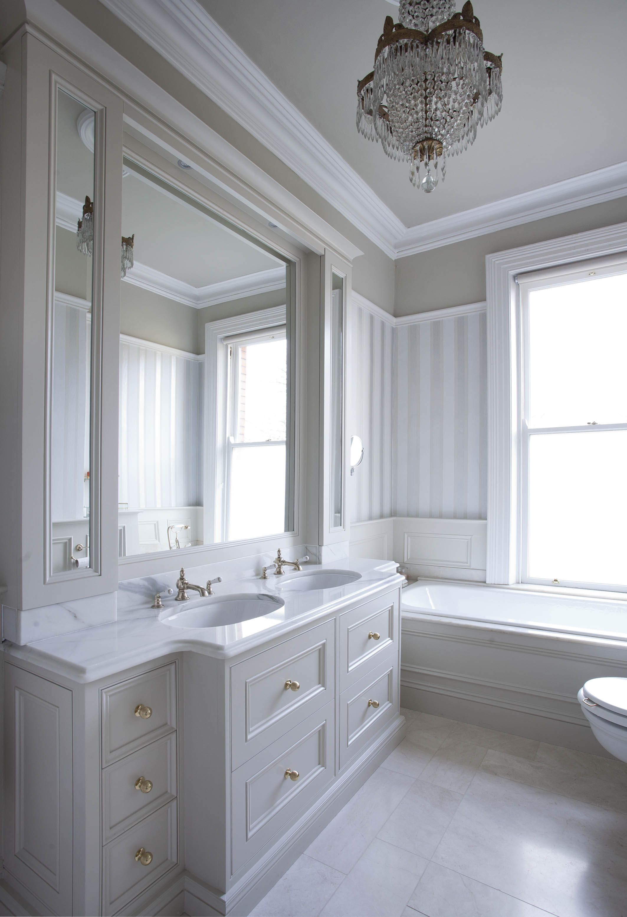 Woodale Georgian Style Bathroom Vanity In 2019
