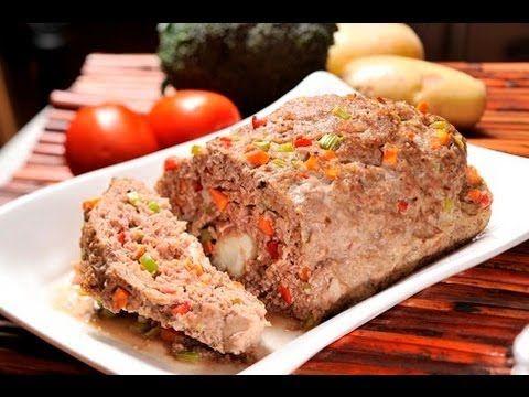Pastel o rollo de carne - Meatloaf - YouTube | COMIDA | Pinterest ...