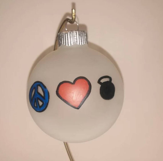 Crossfit Ornaments Christmas