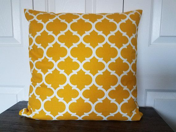 Yellow Pillow Covers Couch Pillow Covers Decorative Pillows Yellow White Throw Yellow Decorative Pillows Pillow Decorative Bedroom Pillows Decorative Patterns