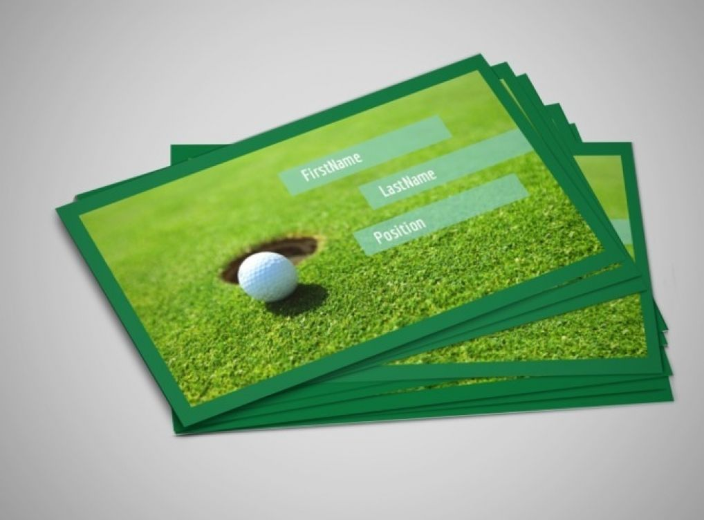 Make Golf Business Cards Designs | Business Card | Pinterest | Golf ...