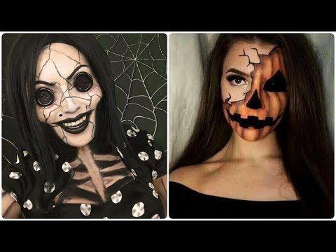 Best Instagram Tutorials 1 Top 20 Easy Halloween Makeup Tutorials Compila Halloween Makeup Tutorial Easy Halloween Makeup Tutorial Instagram Makeup Tutorial