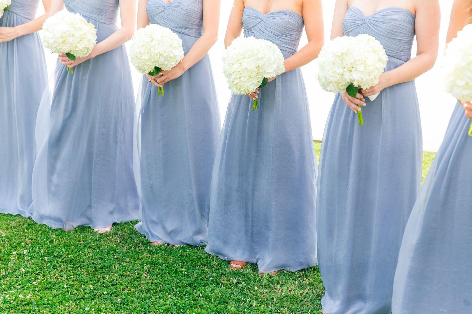 French bluecornflower blueperiwinkle bridesmaid dresses with french bluecornflower blueperiwinkle bridesmaid dresses with hydrangeas queen annes lace ombrellifo Images