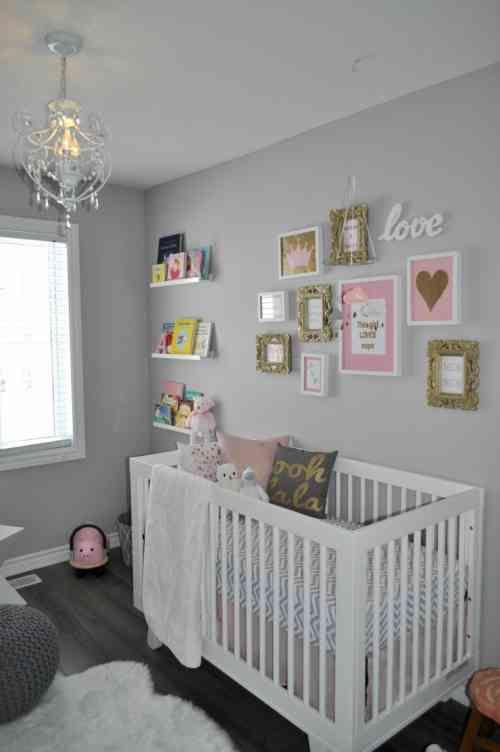 Chambre Bebe Fille En Gris Et Rose 27 Belles Idees A Partager