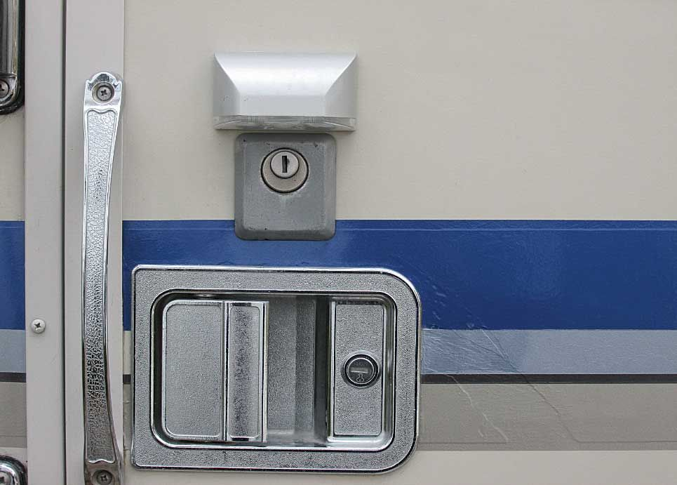 This Reader Has Found A Simple Low Cost Way To Get Light On Your Motorhome S Lock In The Dark Motorhome Lights Rv Stuff