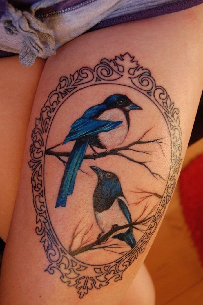 tattoo cuisse – 48 tatouages de caractère | tattoo | pinterest
