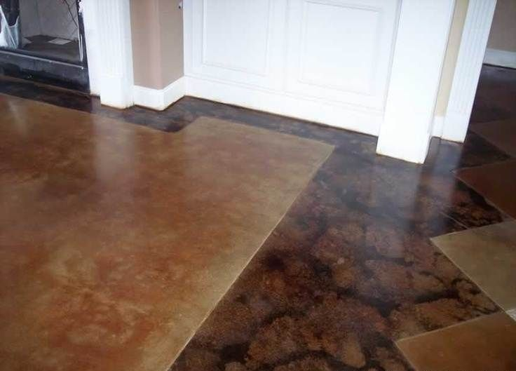 Acid Stained Concrete Floors Cost Ideas Designs Remodel and . & Acid Stained Concrete Floors Cost Ideas Designs Remodel and ...