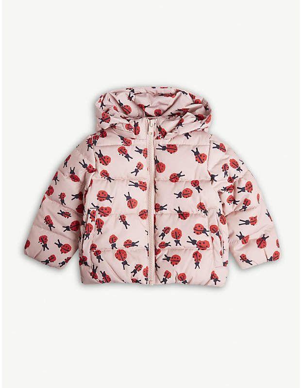 68415079c908 Ladybug print puffer jacket 6-36 months  puffer aesthetic feminine ...