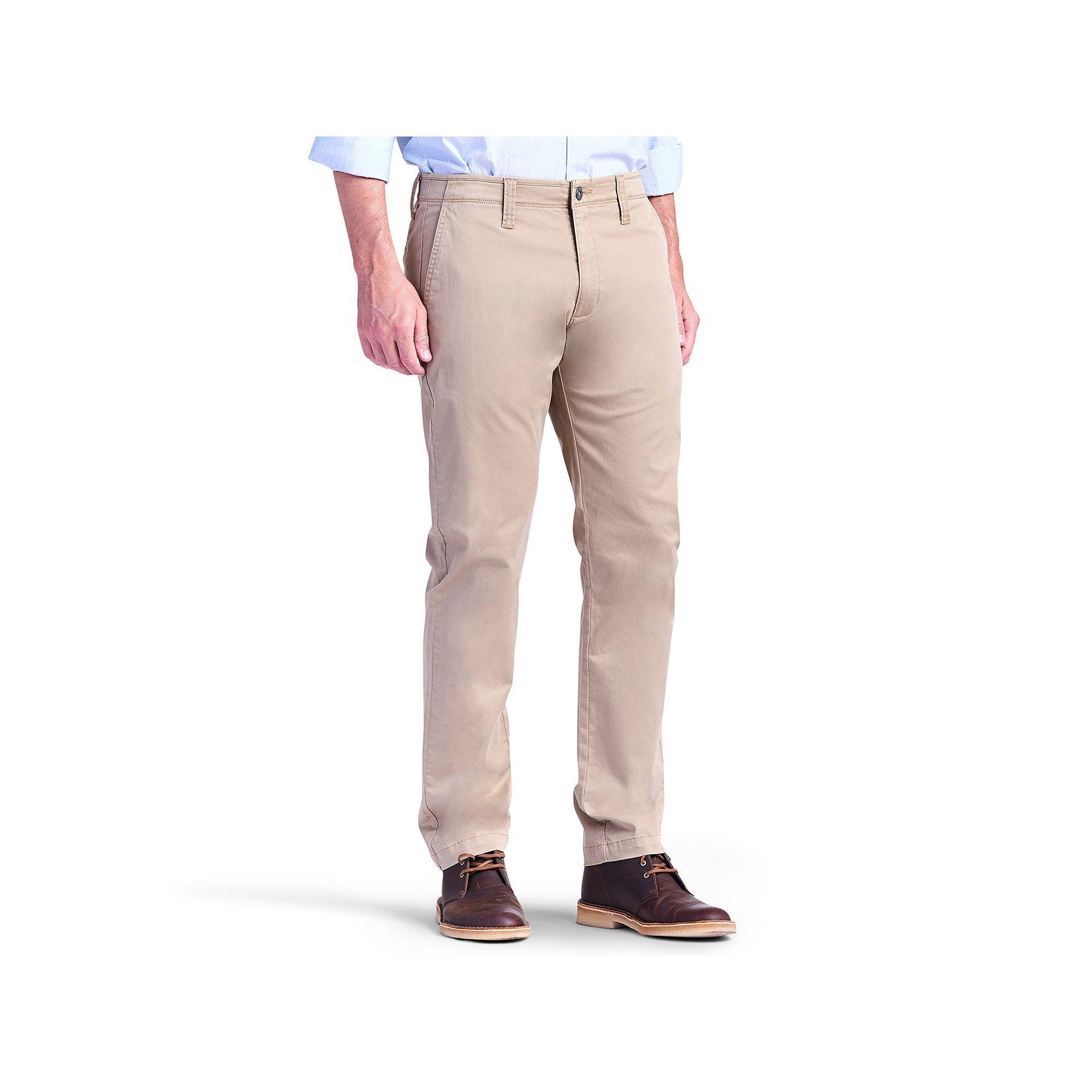 Men's Lee Modern Series Chino Slim-Fit Pants, Size: 30X30, Dark Brown