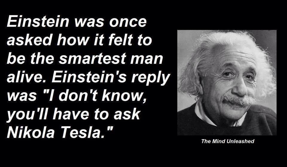 Einstein On Tesla Tesla Quotes Nikola Tesla Quotes Nikola Tesla