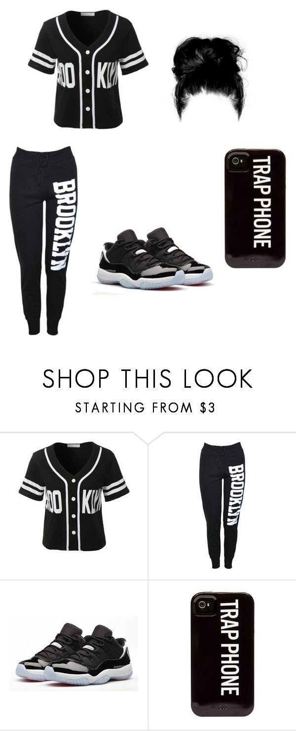"""""""Untitled #40"""" by yabesapong on Polyvore featuring LE3NO and Retrò"""