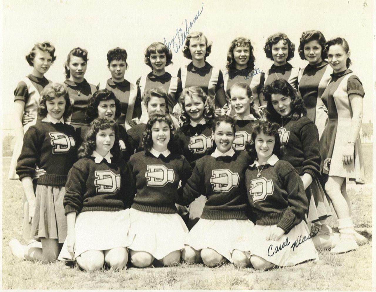 Division Avenue High School cheerleaders (1957) Sports