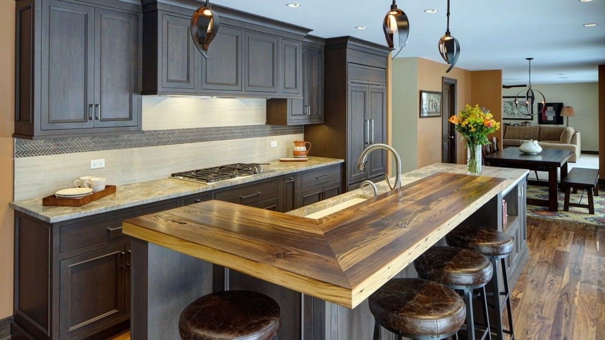 10 Stunning Kitchen Countertop Ideas For Kitchen Look Elegant