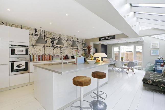 Merci brooklyn tins wallpaper for nlxl on pinterest - Kitchen design brooklyn ...