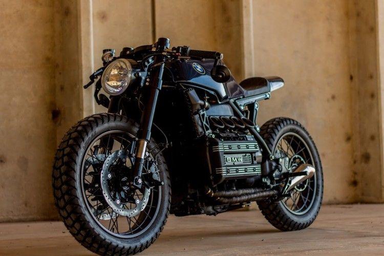 bmw k100 cafe racer 23 | cars and such | pinterest | motorräder