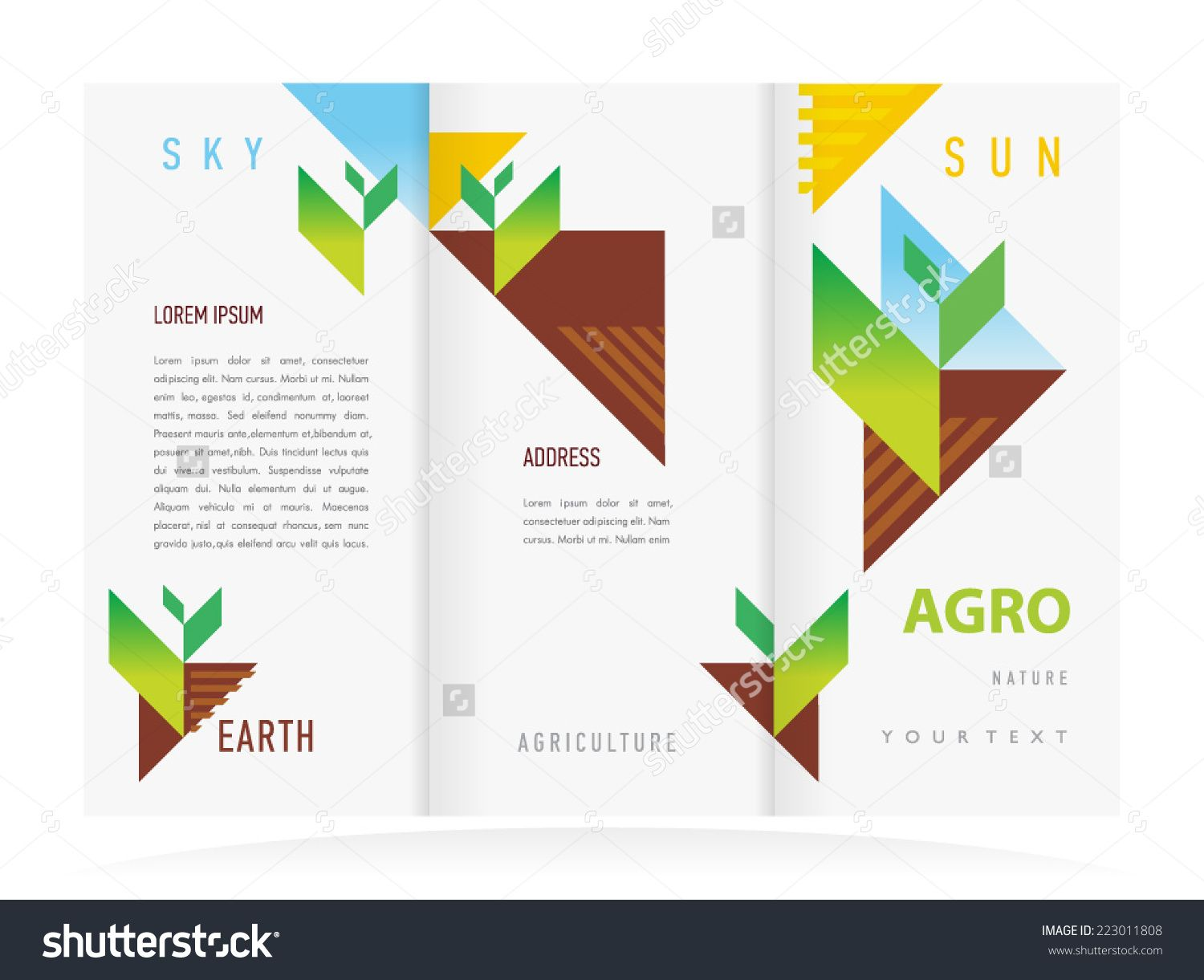 Brochure Template Word Agriculture Template Word Free Agriculture Brochures Farm Flyer .