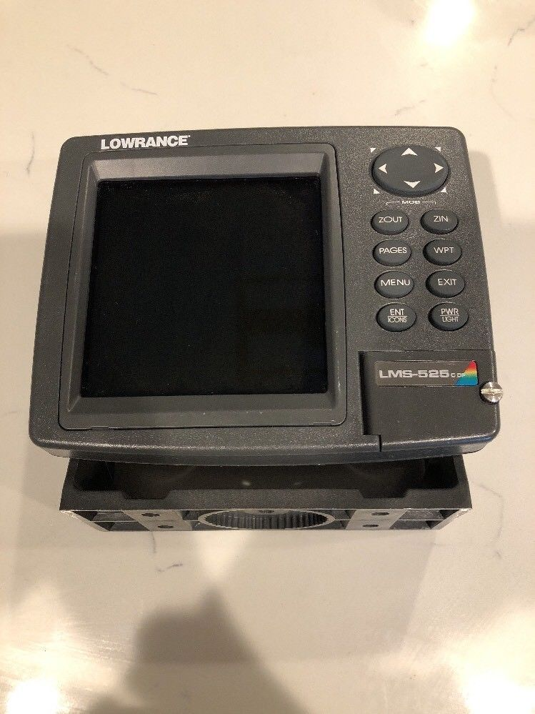 Lowrance Lms 525c DF GPS fish finder screen only Parts
