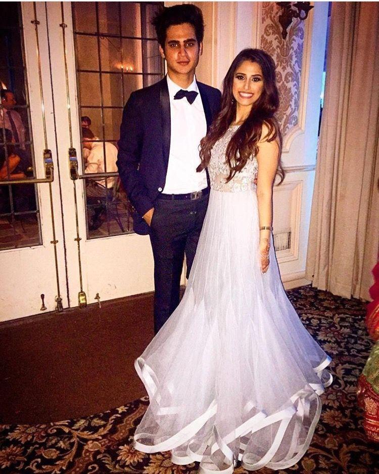 Real bride adorning a #ShyamalBhumika outfit #reception #grey ...