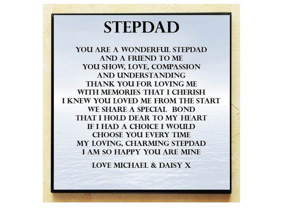 Stepdad Fathers Day Pinterest Fathers Day Dads And Fathers