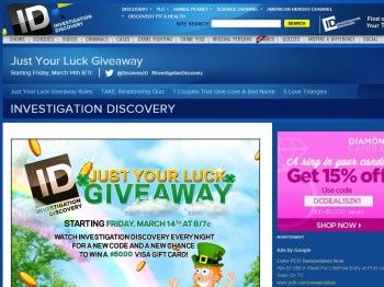 Investigation Discovery Forget You Week Giveaway – Code
