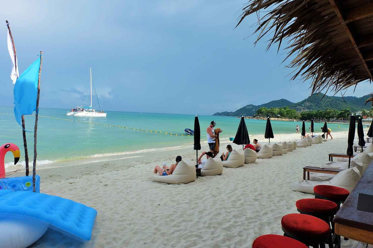 Beach Wedding At Baan Talay Resort Lamai Thailand Package From Samui Ibride