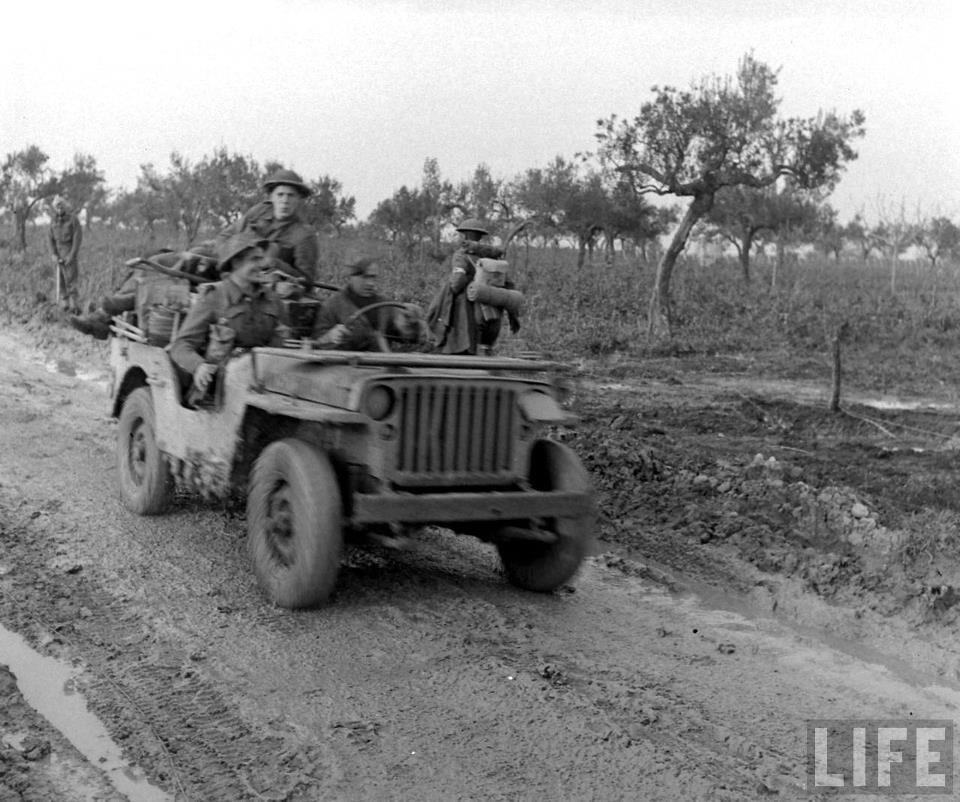 British 8th Army. Italy, February 1944