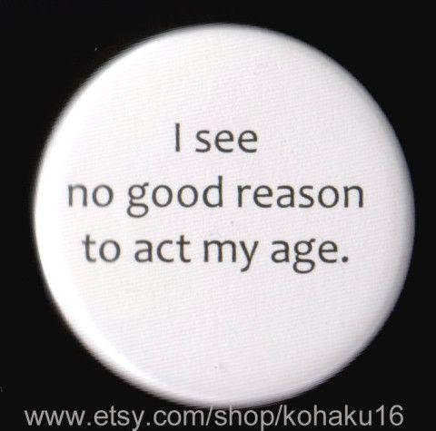 No Good Reason Button | Etsy