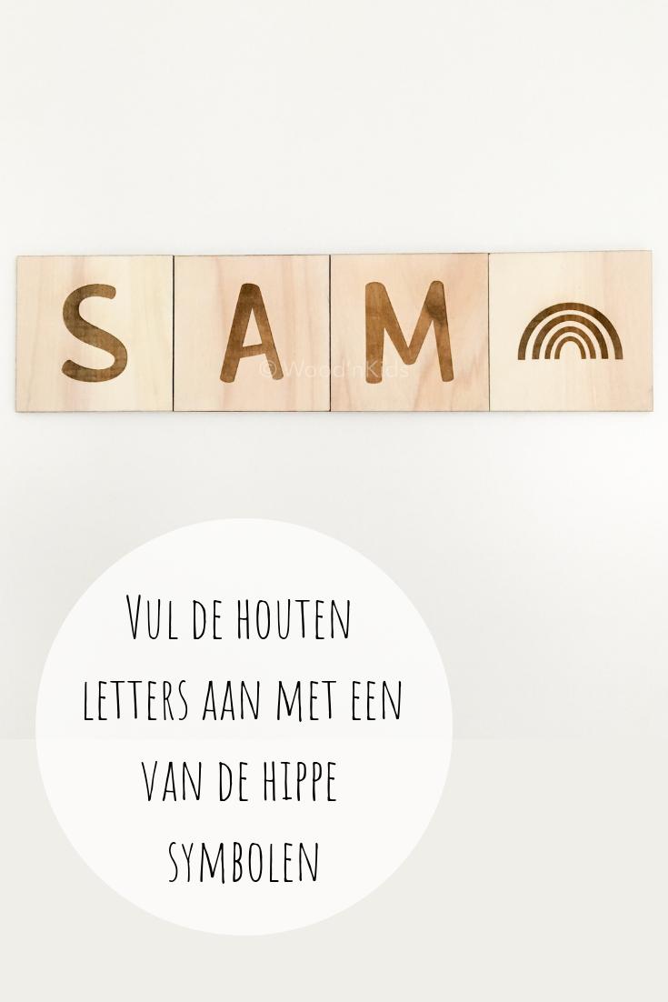 Houten Letters Houten Letters Babykamer Decoratie Muur Babykamer